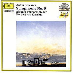 Sinfonia n.9 - CD Audio di Anton Bruckner,Herbert Von Karajan,Berliner Philharmoniker