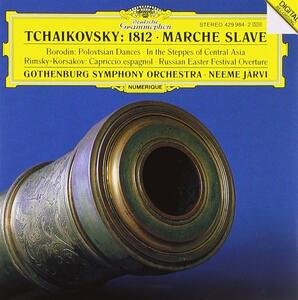 Ouverture 1812- Marcia slava / Danze polovesiane / Capriccio spagnolo - CD Audio di Pyotr Il'yich Tchaikovsky,Nikolai Rimsky-Korsakov,Alexander Porfirevic Borodin