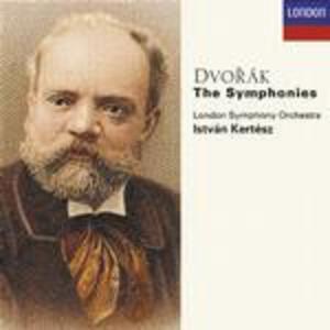 Sinfonie complete - CD Audio di Antonin Dvorak,Istvan Kertesz,London Symphony Orchestra