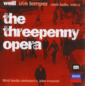 CD L'opera da tre soldi (Die Dreigroschenoper) di Kurt Weill