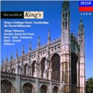 World of King's College C - CD Audio di King's College Choir