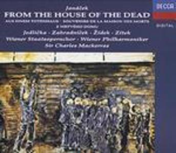 CD La casa dei morti di Leos Janacek