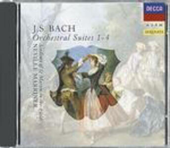 Suites per orchestra n.1, n.2, n.3, n.4 - CD Audio di Johann Sebastian Bach,Neville Marriner,Academy of St. Martin in the Fields