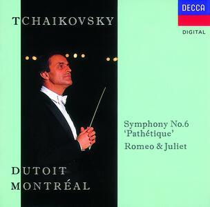 Sinfonia n.6 - Romeo e Giulietta - CD Audio di Pyotr Il'yich Tchaikovsky,Charles Dutoit