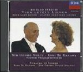 CD Lieder di Richard Strauss