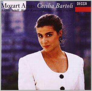 CD Arie da opere di Mozart di Wolfgang Amadeus Mozart