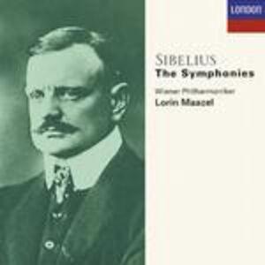 CD Sinfonie complete di Jean Sibelius