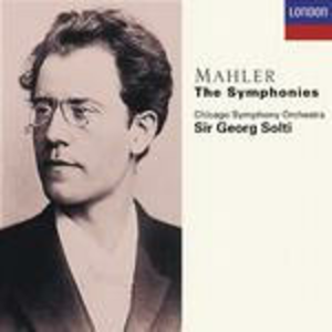 CD Sinfonie complete di Gustav Mahler