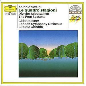 Le quattro stagioni - CD Audio di Antonio Vivaldi,Gidon Kremer,Claudio Abbado,London Symphony Orchestra