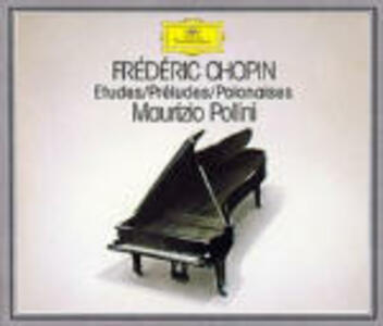 Studi - Preludi - Polacche - CD Audio di Fryderyk Franciszek Chopin,Maurizio Pollini
