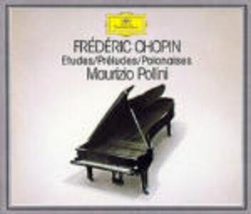 CD Studi - Preludi - Polacche di Fryderyk Franciszek Chopin