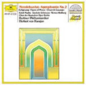 CD Sinfonia n.2 di Felix Mendelssohn-Bartholdy