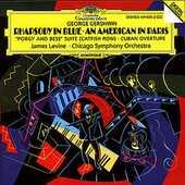 CD Rapsodia in blu - Un americano a Parigi George Gershwin James Levine Chicago Symphony Orchestra