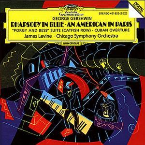 CD Rapsodia in blu - Un americano a Parigi di George Gershwin