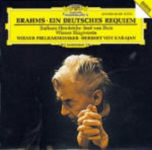CD Un Requiem tedesco (Ein Deutsches Requiem) di Johannes Brahms