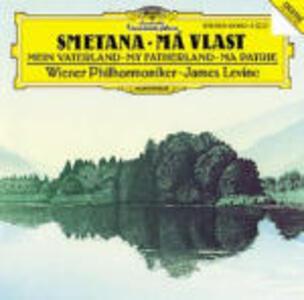 La mia patria (Ma Vlast) - CD Audio di Bedrich Smetana,James Levine,Wiener Philharmoniker