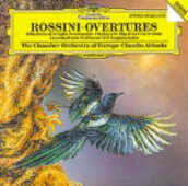 CD Ouvertures Gioachino Rossini Claudio Abbado Chamber Orchestra of Europe