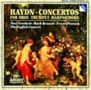 CD Concerti per oboe , tromba e clavicembalo di Franz Joseph Haydn
