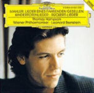 CD Kindertotenlieder di Gustav Mahler