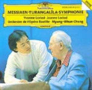 CD Sinfonia Turangalila di Olivier Messiaen