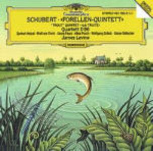 """CD Quartetto con flauto D96 - Quintetto con pianoforte """"La trota"""" di Franz Schubert"""