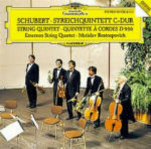Quintetto per archi D956 - CD Audio di Franz Schubert,Emerson String Quartet
