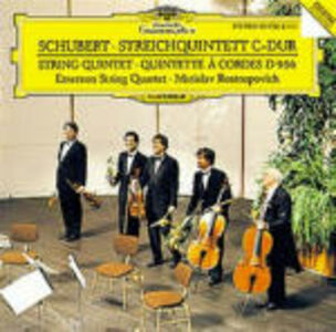CD Quintetto per archi D956 di Franz Schubert