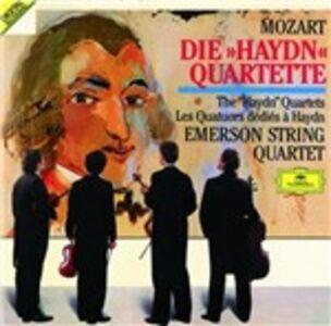 CD Quartetti dedicati a Haydn di Wolfgang Amadeus Mozart