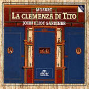 CD La clemenza di Tito di Wolfgang Amadeus Mozart