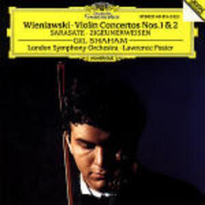 Concerti per violino n.1, n.2 / Leggenda op.17 - Zigeunerweisen op.20 - CD Audio di Pablo de Sarasate,Henryk Wieniawski,London Symphony Orchestra,Gil Shaham,Lawrence Foster