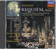 CD Requiem K626 Cecilia Bartoli Wolfgang Amadeus Mozart Georg Solti