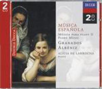 CD Spanish Piano Music vol.2 Enrique Granados , Isaac Albéniz