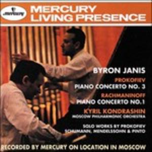 CD Concerto per pianoforte n.3 / Concerto per pianoforte n.1 Sergei Sergeevic Prokofiev , Sergei Vasilevich Rachmaninov