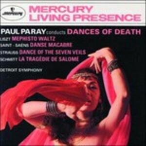 Paul Paray conducts Dances of Death - CD Audio di Paul Paray,Detroit Symphony Orchestra