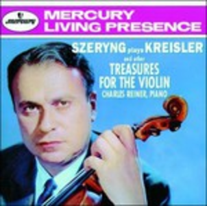 CD Szeryng plays Kreisler and other Treasures for the Violin