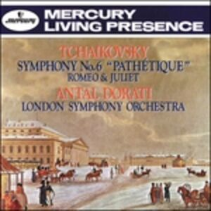 CD Sinfonia n.6 - Romeo & di Pyotr Il'yich Tchaikovsky