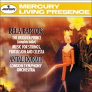 CD Wooden Prince op.13 di Bela Bartok
