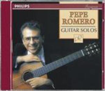 Guitar Solos - CD Audio di Pepe Romero