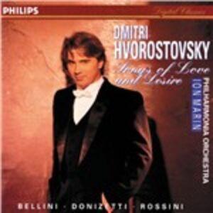 CD Songs of Love and Desire Vincenzo Bellini , Gaetano Donizetti , Gioachino Rossini