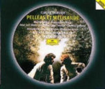 Pelléas et Mélisande - CD Audio di Claude Debussy,Christa Ludwig,José Van Dam,Maria Ewing,Claudio Abbado,Wiener Philharmoniker