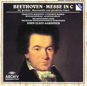 Messa in Do - CD Audio di Ludwig van Beethoven,Charlotte Margiono