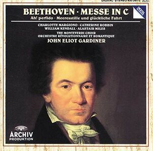 CD Messa in Do di Ludwig van Beethoven