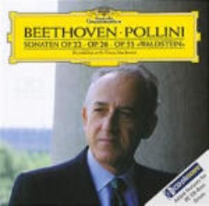 Foto Cover di Sonate per pianoforte n.11, n.12, n.21, CD di Ludwig van Beethoven,Maurizio Pollini, prodotto da Deutsche Grammophon
