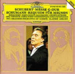 Foto Cover di Messa in Sol maggiore / Requiem per Mignon, CD di AA.VV prodotto da Deutsche Grammophon