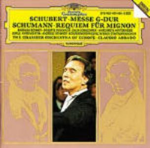CD Messa in Sol maggiore / Requiem per Mignon Franz Schubert , Robert Schumann