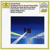 CD Sinfonia n.9 Antonin Dvorak Herbert Von Karajan Berliner Philharmoniker