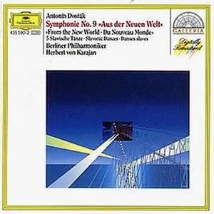 Sinfonia n.9 - CD Audio di Antonin Dvorak,Herbert Von Karajan,Berliner Philharmoniker