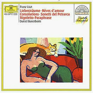 CD Consolations - Sonetti del Petrarca - Rigoletto - 3 Notturni - Années de pélegrinage n.2 di Franz Liszt