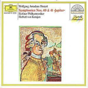 Sinfonie n.40, n.41 - CD Audio di Wolfgang Amadeus Mozart,Herbert Von Karajan,Berliner Philharmoniker