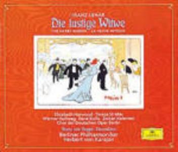 CD La vedova allegra (Die Lustige Witwe) / Ouvertures Franz Lehàr , Franz Von Suppé
